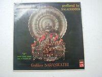 GODDESS SARASWATHI DIKSHITAR S BALACHANDER VEENA 1974 RARE LP RECORD india  EX