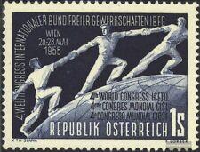 Austria 1018 (edición completa) con fijasellos 1955 ciosl