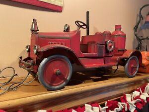 Buddy L Fire Pumper Truck RARE Bumper Searchlight, Original NO RESERVE