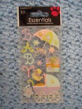 ESSENTIALS BABY BATH STROLLER SCRAP BOOK STICKERS