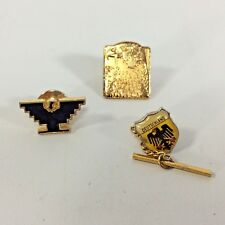 German Deuschland Eagle Pin Back Tie Pin Mixed Lot of 3 Pins Reichsadler Vintage