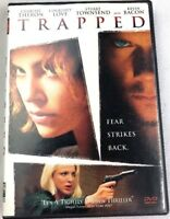 Trapped DVD Charlize Theron,Courtney Love,Stuart Townsend, Kevin Bacon EUC