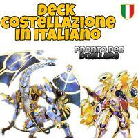 Yu-Gi-Oh! Deck COSTELLAZIONE - Mazzo Completo 40 carte + EXTRA ITALIANO #MYDECK