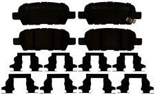 Disc Brake Pad Set-Ceramic Disc Brake Pad Rear ACDelco Pro Brakes 17D1288CHF1