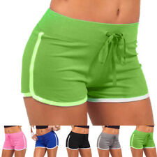 Womens Sport Running Shorts Trousers Casual Beach Summer Gym Yoga Fit Hot Pants