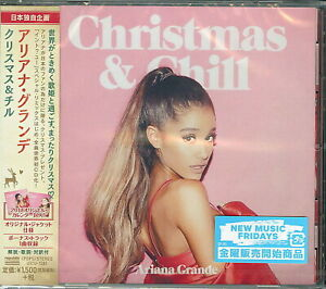 Ariana Grande-Christmas & Chill-Japan CD Bonus Track C94