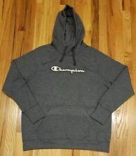 Champion Women's Size L Fleece Pullover Hoodie  Scuba Hood Gray THESPOT917