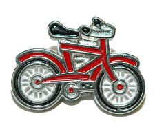 RED BICYCLE TIE PIN TACK (071)