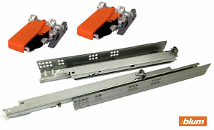 Blum Tandem Single Extension Drawer Runners with BLUMOTION
