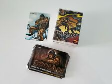 Conan Art Of The Hyborian Age 72 Card Base Set 2004 + Promo Card P1 + Wrapper