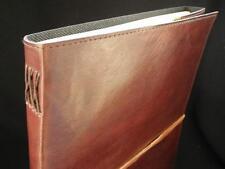 A4 Handmade Leather Sketchbook Journal - Cartridge Paper - Portrait Format