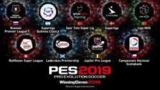 PATCH PES 2019 PS4 Option File con BUNDESLIGA,MLS,NAZIONALI ATTUALI&CLASSICHE