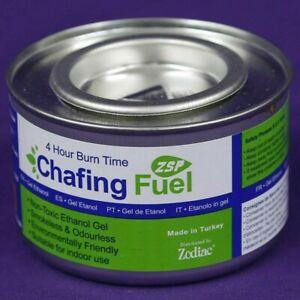 Zodiac Chafer Gel Ethanol Fuel Single Paraffin Greenhouse Heaters 4 Hour Burner