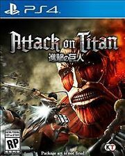 Attack on Titan RE-SEALED Sony PlayStation 4 PS PS4 GAME AOT