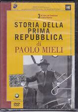 Dvd **STORIA DELLA PRIMA REPUBBLICA VOL. 3** di Paolo Mieli nuovo 2005