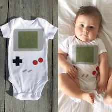 NEW Newborn Infant Baby Boy Bodysuit Romper Jumpsuit Outfits Set Game Clothes