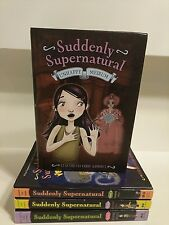 Complete set, SUDDENTLY SUPERNATURAL by Elizabeth Cody Kimmel (chapter books)