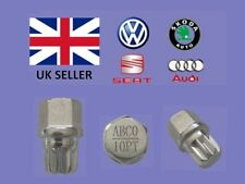 Audi Vw Seat Skoda Locking Wheel Nut Key  ABC 0 Type 10 Splines