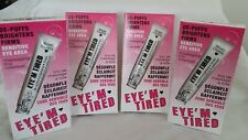 4 lot of HARD CANDY DE-PUFFS BRIGHTENS FIRMS SENSITIVE EYE AREA NEW SEALED