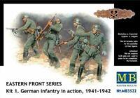 Masterbox 1:3 5 Scala - Eastern Front Series Kit 1 Fanteria Tedesca MAS3522
