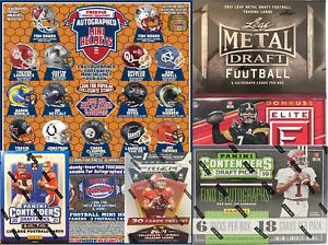 Detroit Lions (6) Box Football Break 2021 Leaf Metal * 2019 Contenders Draft