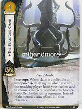 A Game of Thrones 2.0 LCG - 1x #011 The Seastone Chair - Taking the Black