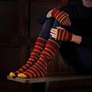Harry Potter Gryffindor Socks & Mittens Knitting Set Officially Licensed