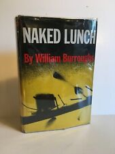 Naked Lunch by William Burroughs, Grove Press HC in Mylar. 14th Printing