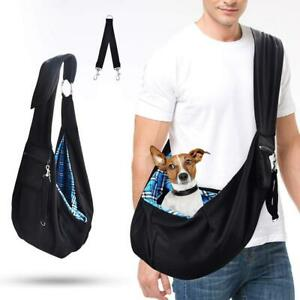 Pet Carrier Dog Puppy Hands-free Tote Shoulder Sling-style Casual T1Y5
