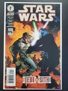 Star Wars Jedi vs Sith #1 (2001 Dark Horse) 1st Appearance Darth Bane & Zannah