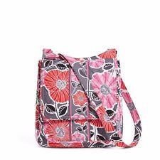 "Vera Bradley Mailbag Crossbody Bag ""Cheery Blossom"" Retired Patterns NWT!"