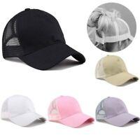 Mujer Niña Sombrero gorra de béisbol gorro Snapback Sol Deporte