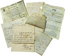 1833 Manuscript Papers - West Indies Hms Megaera - Distinguished Colour Sergeant