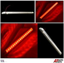 1x 18 LED 24v LUCE ROSSA STRIP BAR 400mm CAMION FURGONE TRATTORE BARCA YACHT CAMPER
