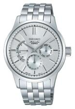 Seiko Automatique Horloge Multifonction Hommes SARC015 Analogue Acier Inox S