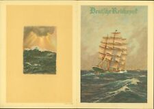 Germany 1935 - Telegram - Illustrated- Ship.............(EB) MV-967