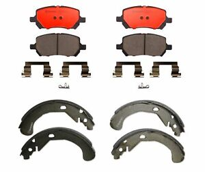 Brembo Set Front Pads & Rear Shoes Brake Kit for Chevy Cobalt Saturn Ion Pontiac