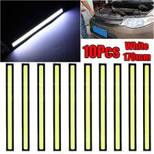 10pcs Watertight LED COB Car Auto Driving Daytime Running Lamp Fog Lights White