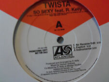 "TWISTA feat. R. KELLY ""SO SEXY"" ""LIKE A 24"" feat. T.I. Liffy Stokes Vinyl LP"