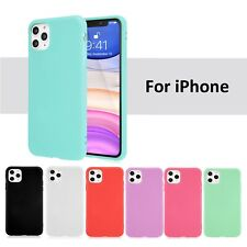 iPhone 11 Pro Max Case 6 7 8 6S Plus X XS XR Case Soft Silicone Cover