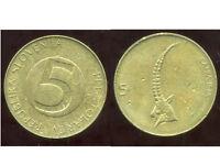 SLOVENIE   5 tolarjev  1994            ANM  ( bis )