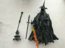 LORD OF THE RINGS MORGUL LORD WITCH KING ACTION FIGURE TOY BIZ FLAMING SWORD