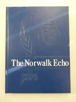 1956 Norwalk High School Wisconsin Original YEARBOOK Annual Echo