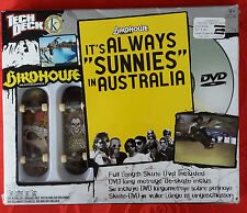 Tech Deck Birdhouse, It´s always sunnies in Australia + DVD + 2 FingerBoard BNIB