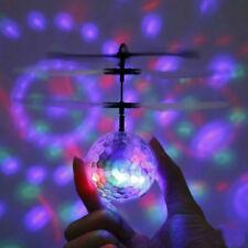 Flying Ball Infrarouge Induction Mini avion feu clignotant Remote jouets pour enfants