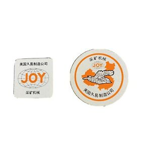 Joy Mining Manufacturing Vintage Decals Stickers Collectibles
