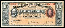 MEXICO  - TEN  PESOS  BANKNOTE