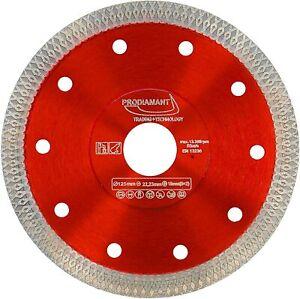 Disco diamantato per taglio piastrelle PRODIAMANT Premium - 125 x 22,2 mm,125 mm