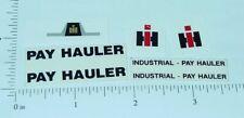 Custom IHC Payhauler Truck Stickers              CU-017