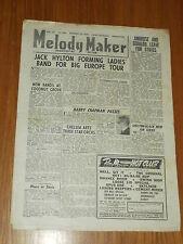 MELODY MAKER 1946 #691 OCT 19 JAZZ SWING JACK HYLTON HARRY CHAPMAN AMBROSE